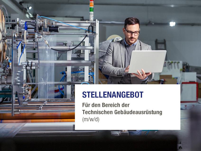 Stellenangebot - Technischen Gebäudeausrüstung